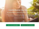 Bild: Google Contributor: Crowdfunding für Online-Journalismus.