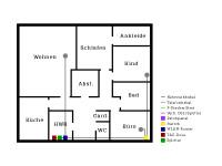 netzwerkverkabelung planen anforderunge f r dein heimnetzwerk netzwelt. Black Bedroom Furniture Sets. Home Design Ideas