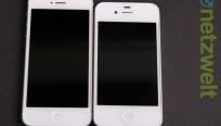 Das iPhone 5 (links) ist länger aber nicht...