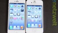 Das Display fällt mit vier Zoll beim iPhone 5...