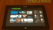 Da auf dem Samsung-Tablet kein vollwertiges...