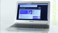 Das Display des Samsung Chromebook 303C misst...