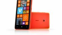 Das Display des Lumia 625 misst 4,7 Zoll....