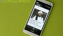 Beliebte Features des HTC One wie BlinkFeed...