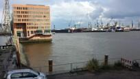 Hamburger Hafen, aufgenommen mit Galaxy S4...