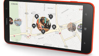 Das Lumia 1320 bietet alle Nokia-Services und...
