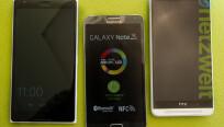 Das Lumia 1520 (links) ist größer als das...