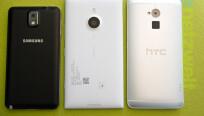 Mit 8,7 Millimetern ist das Lumia 1520 (Mitte)...