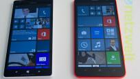 """Gleich groß: Das Nokia Lumia 1520 und """"der..."""