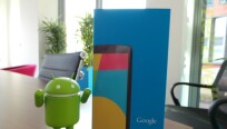 Das Nexus 5 ist in der netzwelt-Redaktion...