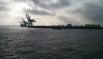 Noch eine Aufnahme aus dem Hamburger Hafen....