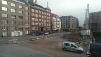 Ein Foto aus dem Hamburger Hafen. Es zeigt...