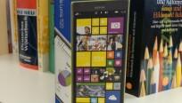 Das Lumia 1520 ist in der Redaktion...