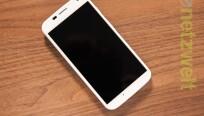 Der Bildschirm des Motorola Moto X misst in der...