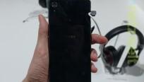 Die Kamera auf der Rückseite löst beim Xperia...