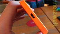 An der Unterseite bietet das Lumia 630 einen...