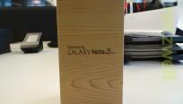Das Galaxy Note 3 Neo ist in der Redaktion...