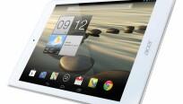 Gerade in Weiß sieht das Acer Iconia A1-830 dem...