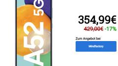 Samsung Galaxy A52 5G w Mindfactory