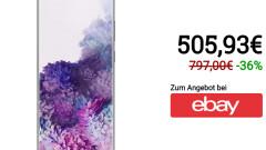 Samsung Galaxy S20 + |  128 GB de almacenamiento en eBay