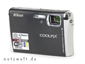 digitalkamera mit wlan nikon coolpix s51c im test netzwelt. Black Bedroom Furniture Sets. Home Design Ideas