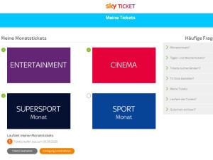 Sky Ticket Jugendschutz