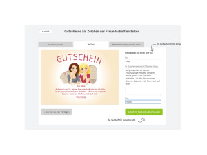 Internet & Netzwelt: Gutscheine zum Frauentag selbst erstellen ...