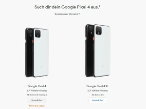 Pixel 4 is no longer available in the Google Store in Germany.