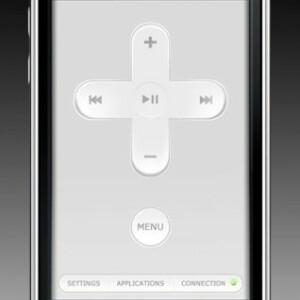 das iphone als fernbedienung vier top apps in der. Black Bedroom Furniture Sets. Home Design Ideas