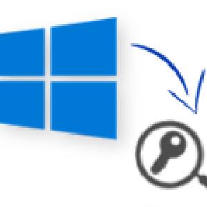 windows 10 product key abrufen
