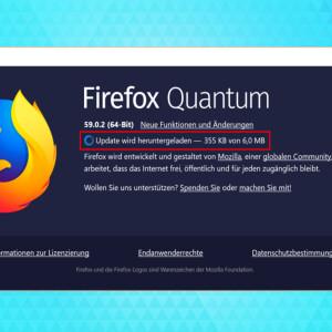 Mozilla Firefox: So aktualisiert ihr den Browser manuell