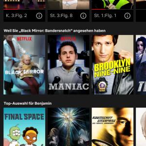 Netflix Weiterschauen Löschen