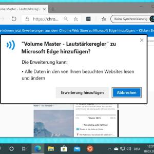 Windows 10: Edge-Browser mit Chrome-Erweiterungen nutzen - So geht´s