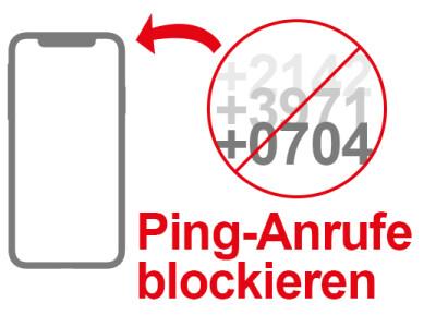 Ping Anrufe Kosten