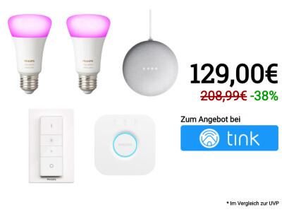 Philips Hue: Smarte Licht Sets im Summer Sale bei tink zum
