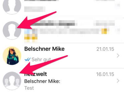 WhatsApp: Profilbild weg - woran liegts?   NETZWELT