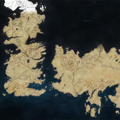Karte Westeros Essos Deutsch.Game Of Thrones Der Kontinent Essos Netzwelt