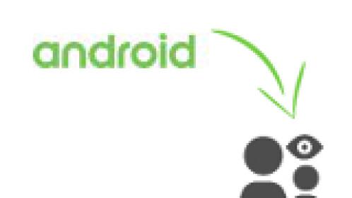 Android hintergrund uber mehrere seiten