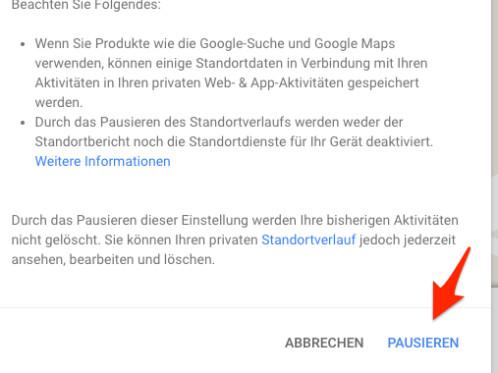 Google Maps So Deaktiviert Und Löscht Ihr Euren Standortverlauf