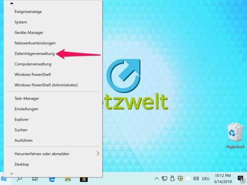 Windows 10: Datenträgerverwaltung finden und nutzen