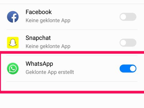 whatsapp mit 2 nummern nutzen ohne root
