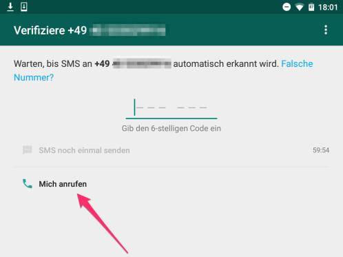 Whatsapp Mit Festnetznummer