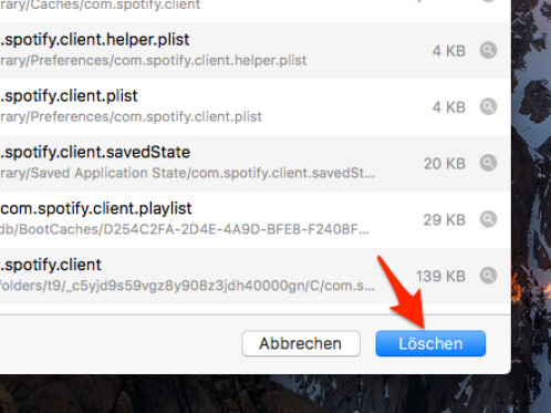 how to delete spotify cache on mac