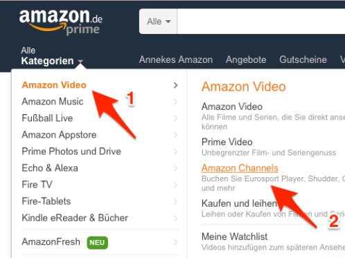 Amazon Eurosport Channel