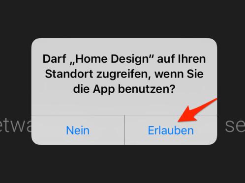 Nach Dem Ersten Öffnen Der App, Werdet Ihr Zunächst Gefragt, Ob Ihr Den  Zugriff