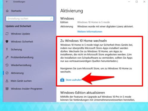 Windows 10 S Modus beenden: So wechselt ihr zum ...