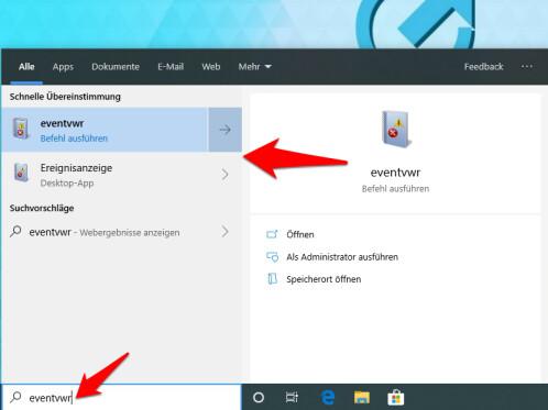 Windows 10 Ereignisanzeige öffnen: So geht's