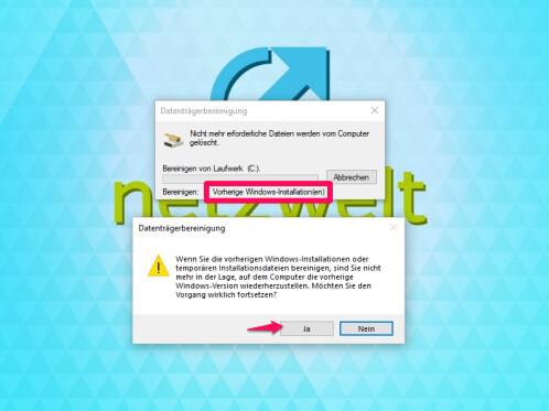 Windows.old: So löscht ihr den Systemordner
