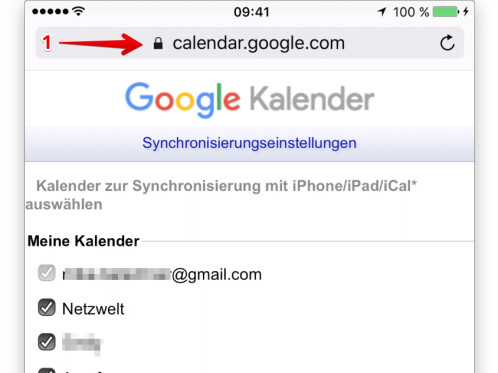 kontakte google konto
