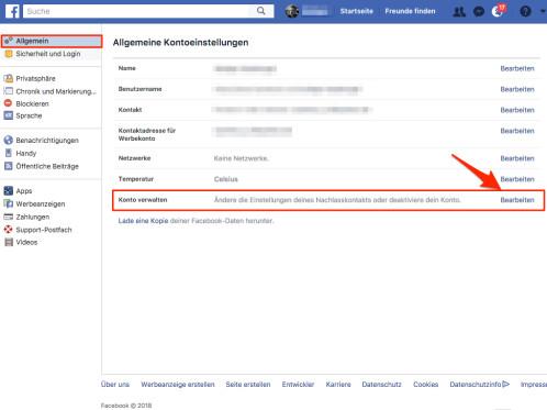 Wie deaktiviere ich mein Facebook-Profil?